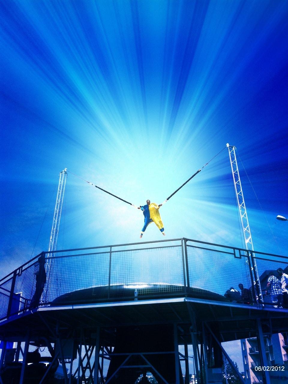 saut homme volant